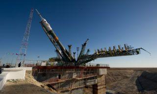 Soyuz-pad