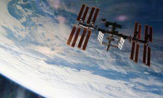 ISS-orbit