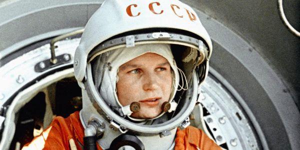 Советский космонавт Валентина Терешкова